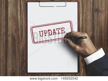 Update Development Fixed Forward Modern Better Concept