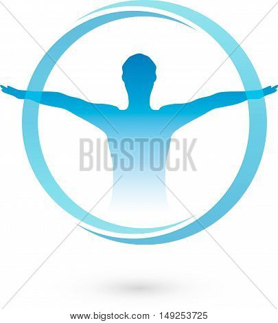 Human, Fitness, Health, Logo, naturopaths, sports, physiotherapy