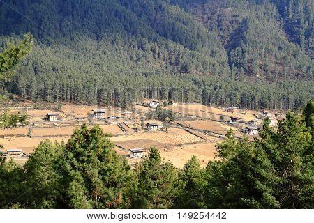Wangdue Phodrang Valley, Bhutan