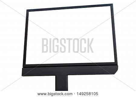 blank screen billboard for outdoor advertising poster blank billboard for advertisement metaphor billboard for outdoor advertisement.