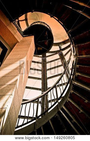 Your Path to Success - Spiral Staircase