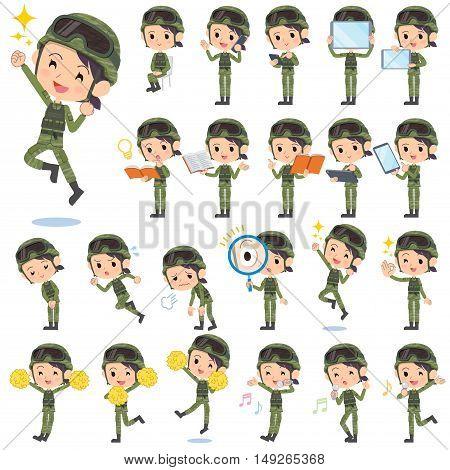 Military Wear Woman 2