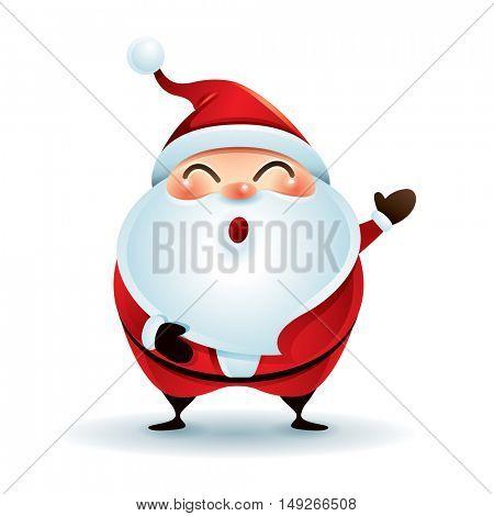 Santa Claus greetings