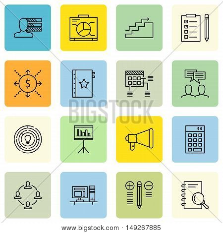 Set Of Project Management Icons On Creativity, Investment, Cash Flow And More. Premium Quality Eps10