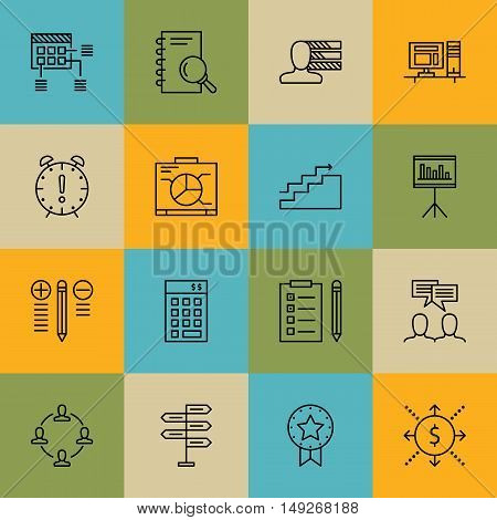 Set Of Project Management Icons On Teamwork, Investment, Statistics And More. Premium Quality Eps10