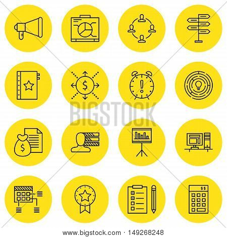 Set Of Project Management Icons On Quality Management, Personality, Cash Flow And More. Premium Qual