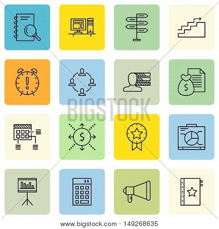 Set Of Project Management Icons On Personality, Planning, Quality Management And More. Premium Quali