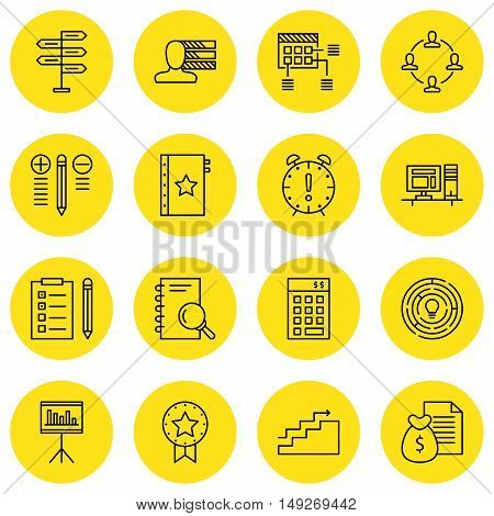 Set Of Project Management Icons On Investment, Creativity, Personality And More. Premium Quality Eps