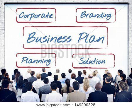 Business Branding Plan Concept