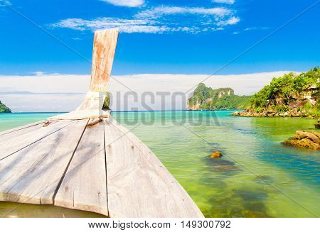 Getaway Journey Asian Boat
