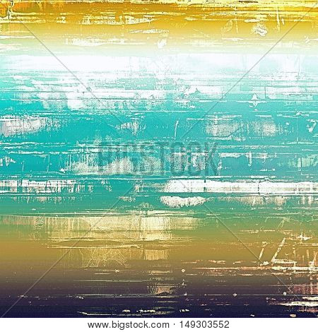 Retro colorful background or creative old style texture with different color patterns: yellow (beige); brown; green; blue; white; cyan