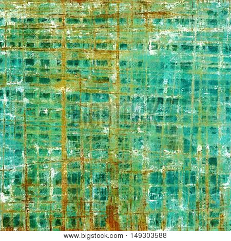 Grunge texture, scratched surface or vintage background. With different color patterns: yellow (beige); brown; green; blue; red (orange); cyan