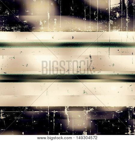 Background with grunge elements on vintage style old texture. With different color patterns: yellow (beige); brown; gray; green; purple (violet); black