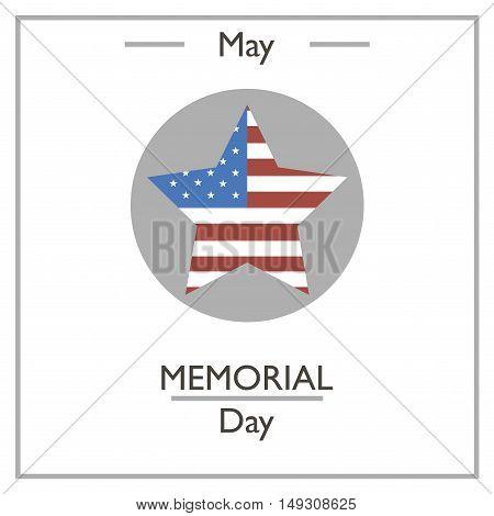 Memorial Day, May.