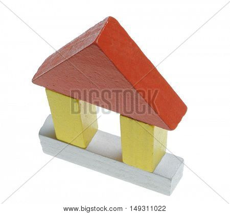 house wooden toy