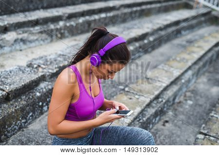 Setting A Workout Playlist