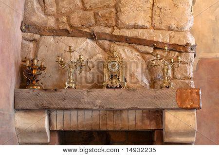 Interior Mantel Clock
