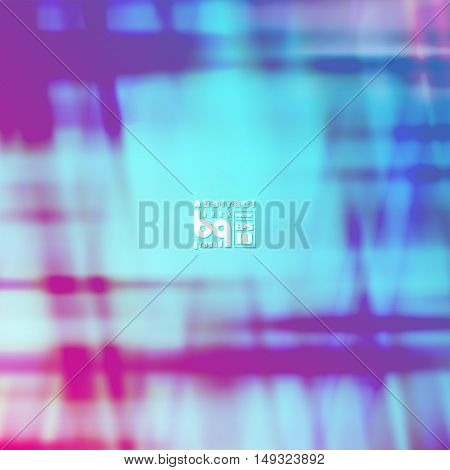 Vector illustration neon futuristic colorful texture abstract background blue