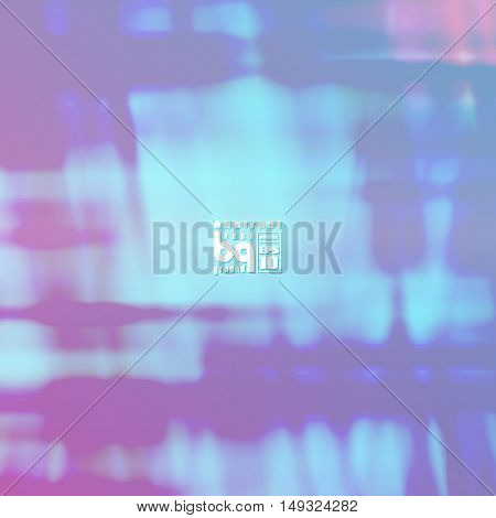 Vector abstract colorful texture for background neon infinity blue glitch