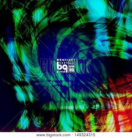 Vector design colored abstract background futuristic illustration