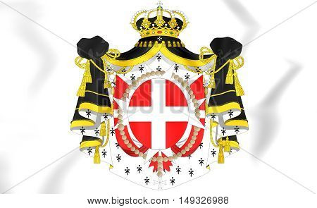 Sovereign Military Order Of Malta Coat Of Arms.
