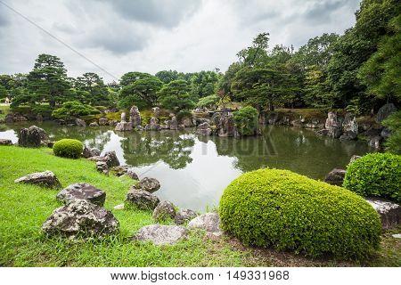 Holiday in Japan - The Emperor Garden in Nijo Castle