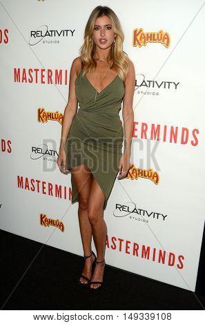 LOS ANGELES - SEP 26:  Gemma Vence at the