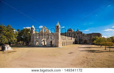 Church and monastery of Santiago Apostol, Cuilapan, Oaxaca, Mexico, 16th century