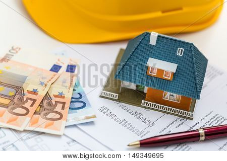 concept of real estate business management and accounting