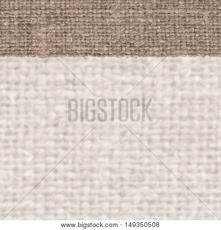 Textile structure fabric industry sandy canvas hemp material rough background