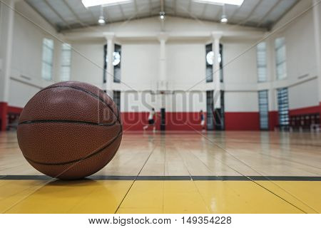 Basketball Sport Athletic Activity Game Skill Ball Concept