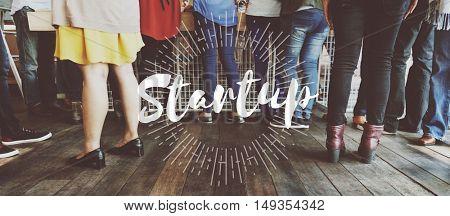 Socialize Diaspora Start up Initiation Team Building Concept