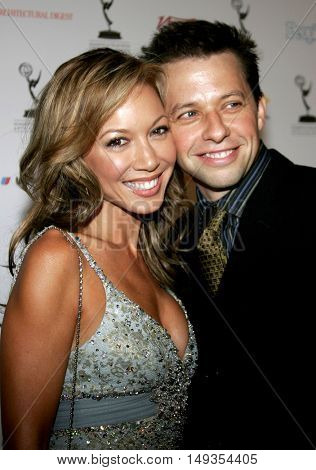 Lisa Joyner and Jon Cryer at the 58th Annual Primetime Emmy Awards Performer Nominee Reception held at the Pacific Design Center in West Hollywood, USA on August 25, 2006.