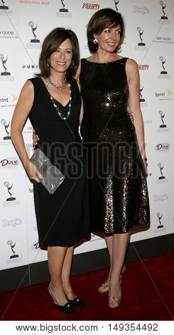 Allison Janney and Jane Kaczmarek at the 58th Annual Primetime Emmy Awards Performer Nominee Reception held at the Pacific Design Center in West Hollywood, USA on August 25, 2006.