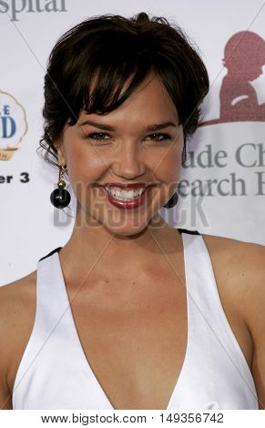 Arielle Kebbel at the 'Runway For Life' Benefiting St. Jude Children's Research Hospital held at the  Beverly Hilton in Beverly Hills, USA on September 15, 2006.