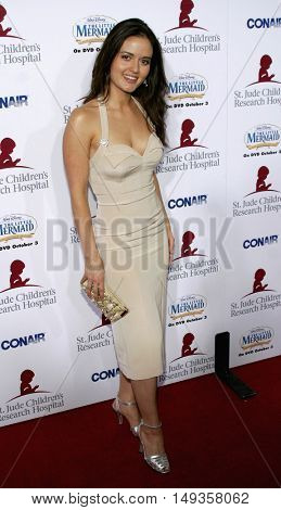 Danica McKellar at the 'Runway For Life' Benefiting St. Jude Children's Research Hospital held at the  Beverly Hilton in Beverly Hills, USA on September 15, 2006.