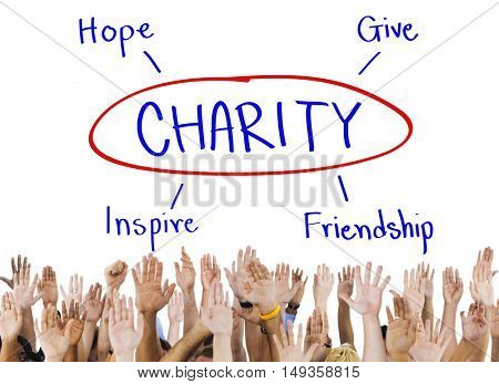Charity Give Hope Inspiration Friendship Concept