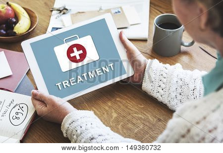 Treatment Healthcare Medical First Aid Concept