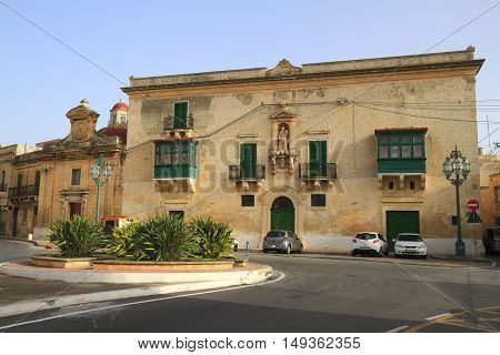 Gregorio Bonnici's Palace, Malta