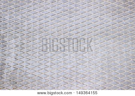 Background road slabs rough texture light grey color