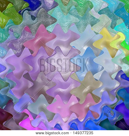 Abstract coloring background of the abstract background with visual lighting, mosaic,wave,spherize and plastic wrap effects.Good for your project design