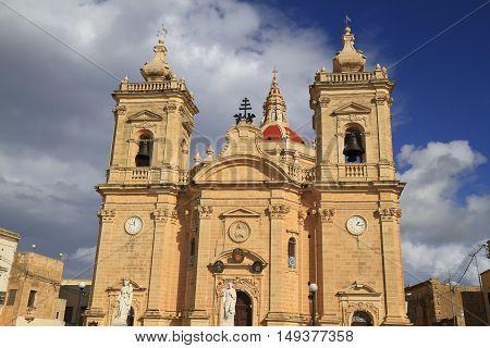 Xaghra Parish Church, Malta