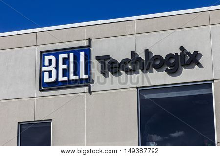 Indianapolis - Circa September 2016: Bell Techlogix LogixCenter 1 Headquarters I