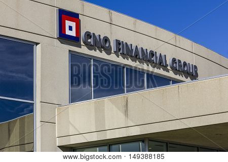 Carmel - Circa September 2016: CNO Financial Group headquarters. CNO was formerly known as Conseco Inc. I