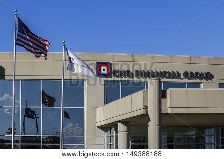 Carmel - Circa September 2016: CNO Financial Group headquarters. CNO was formerly known as Conseco Inc. II