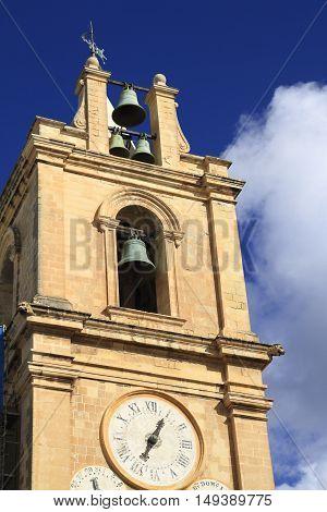 St. John's Co-cathedral In Valletta, Malta