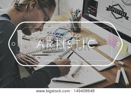 Working Productive Art Hobby Concept