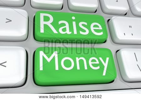 Raise Money Concept
