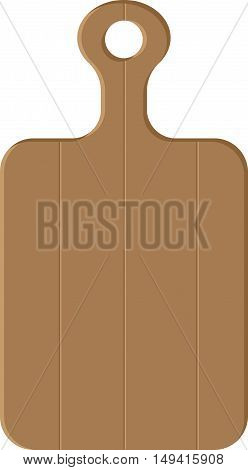 Abstract graphic Image of wooden cutting board