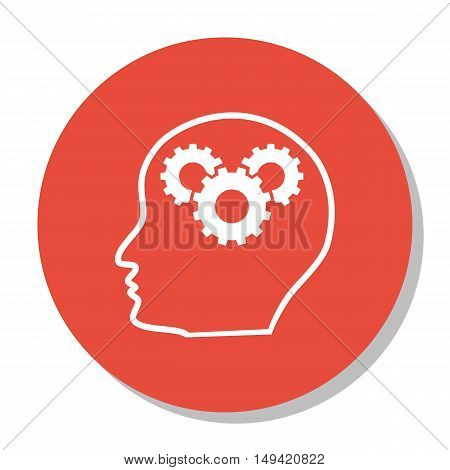 Vector Illustration Of Seo, Marketing And Advertising Icon On Creativity In Trendy Flat Style. Seo,